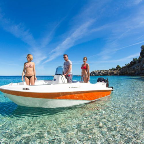 Boat  Rental no licenses required in Ibiza full day