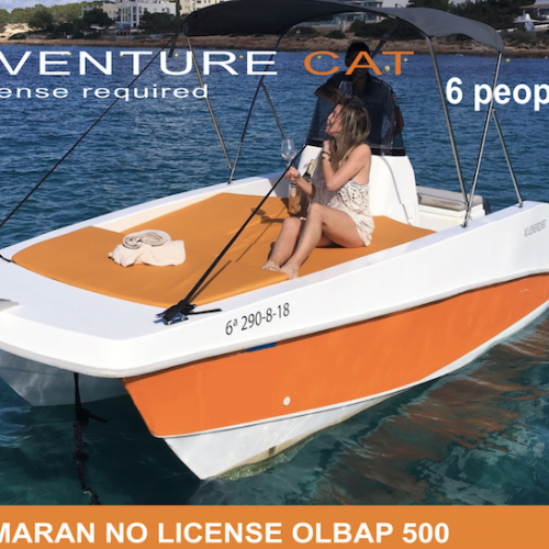 CATAMARAN NO LICENSE OLBAP 500